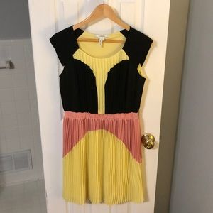 Max and Cleo color block dress